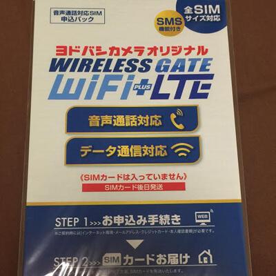 ワイヤレスゲートのSIM