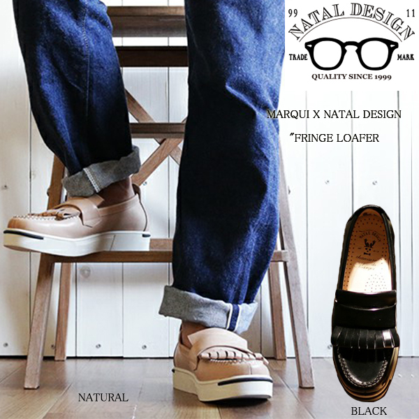 NATAL DESIGN FRINGE LOAFER