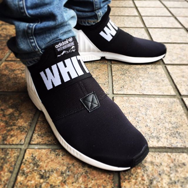 """adidas ZX FLUX PLUS """"White Mountaineering"""" """"LIMITED EDITION"""" BLACK"""