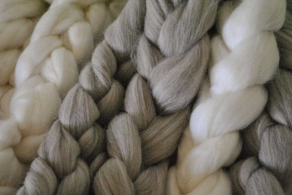 メリノウールの繊維