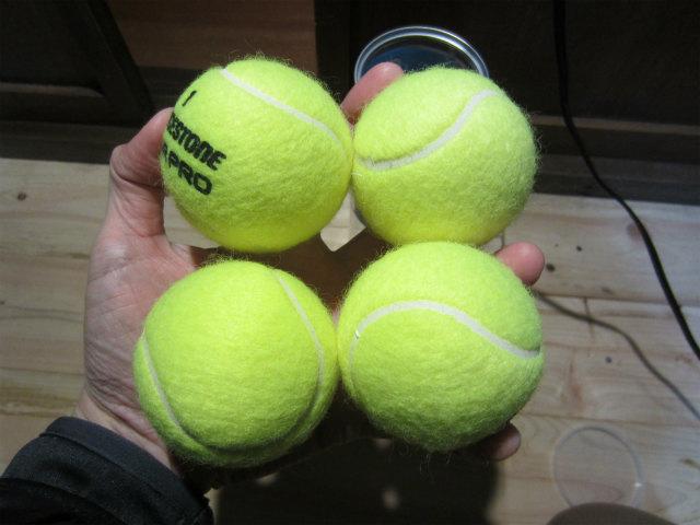 テニスボールマッサージ