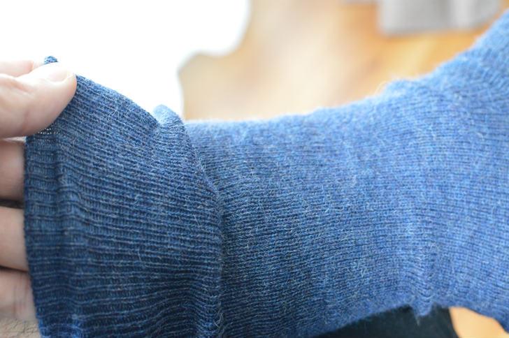 薄くて暖かいアルパカのメンズ靴下