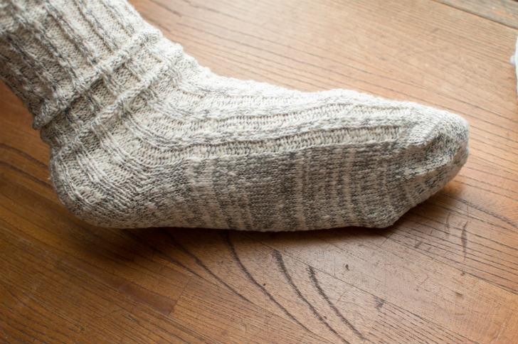 オーガニックコットンのメンズ靴下