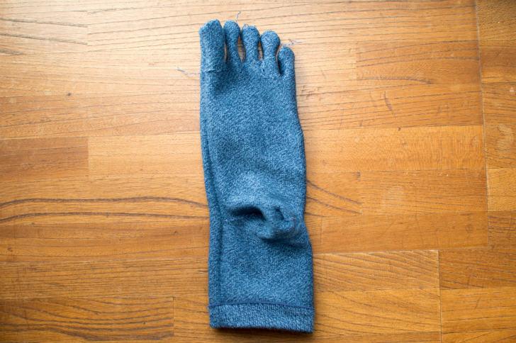 【ムレ対策】ちょっと高い5本指のメンズ靴下