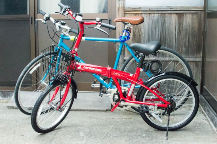 CAPTAIN STAGの折りたたみ自転車レビュー