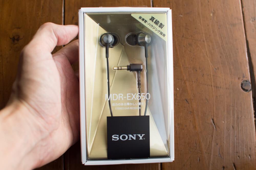 sony MDR-EX650レビュー