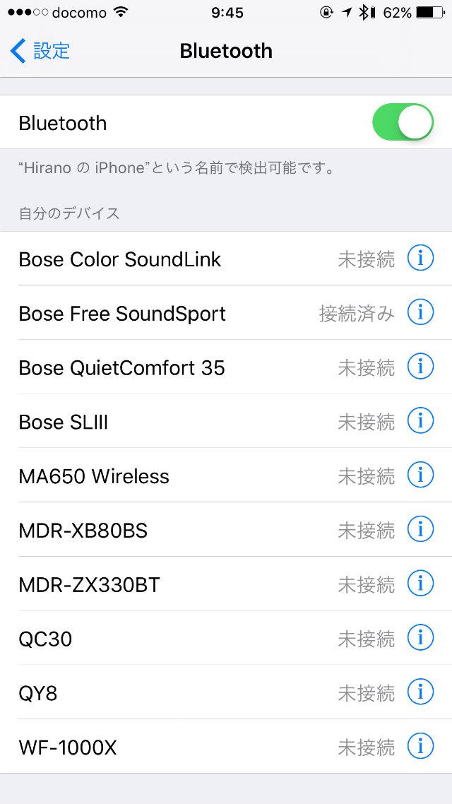 bose soundsport free Wireless レビュー