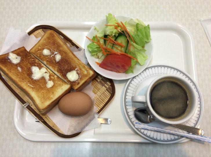 館山の中村屋のトースト