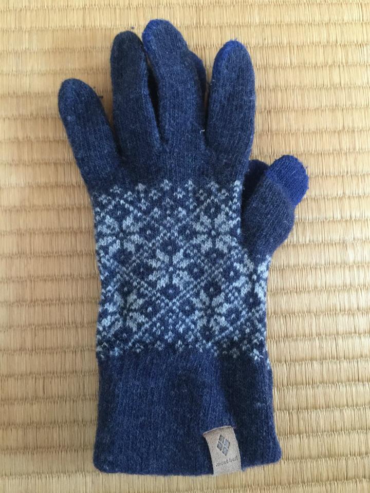 モンベル手袋